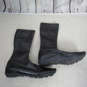 Prada Boots Womens 6.5 Black Leather
